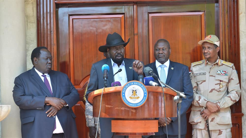 South Sudan: Salva Kiir appoints former rebel leader Riek Machar as country's 1st vice president