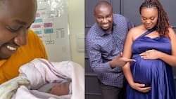 NTV Journalist Kennedy Murithi Welcomes Beautiful Baby Girl Days after Losing Grandmother