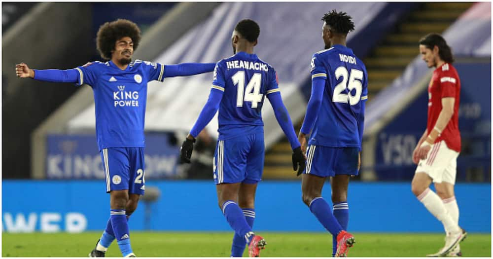 Fa Cup: Leicester City Eliminate Man United to Reach Semis for First Time in 39 Years