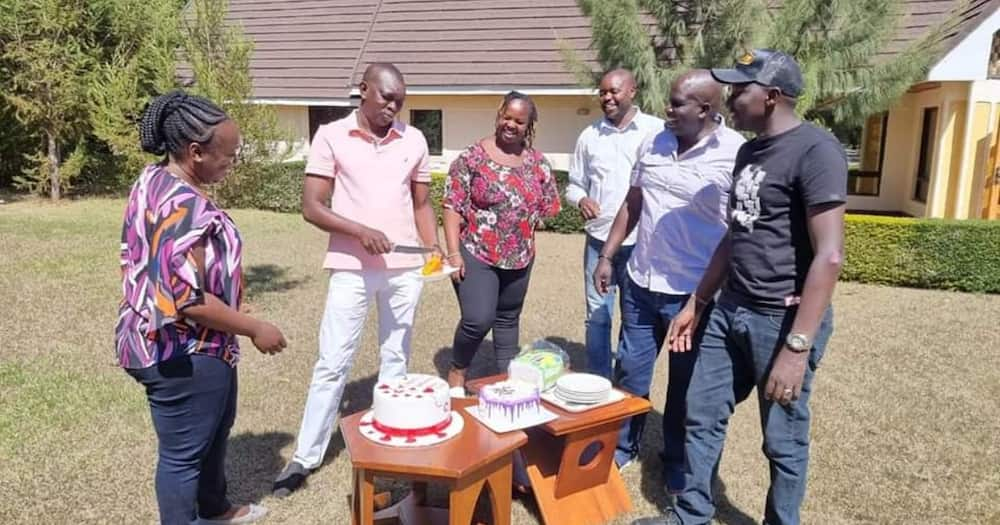 Oscar Sudi shows off photos of his beautiful family on his 41st birthday