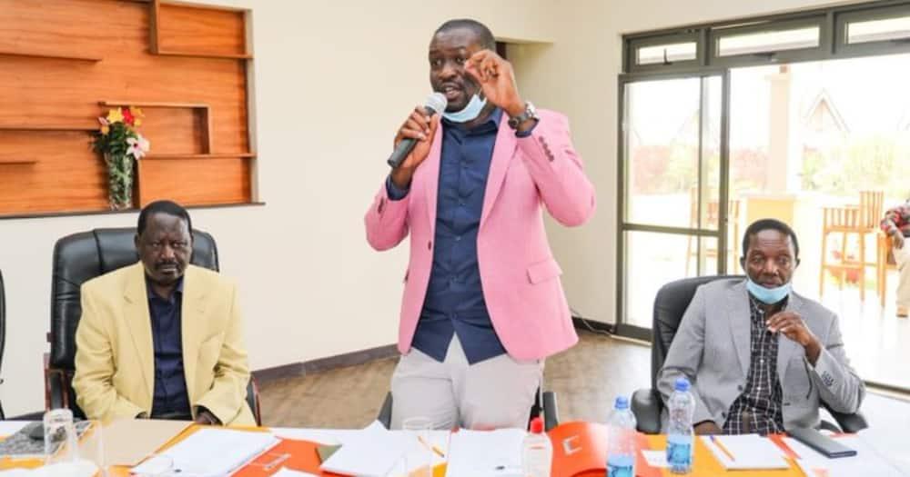 ODM chamtwanga kumbo Owen Baya kwa kujihusisha na DP Ruto, kula siasa za Tangatanga