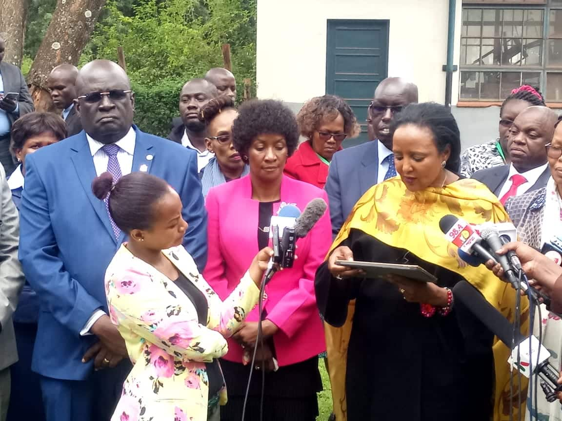 Ambira Boys High students were arrested for confessing to cheating in exams - CS Amina