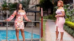 Teacher Wanjiku teases fans with sensual pose in new photo