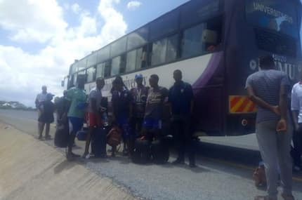 60 Kenyan university students stranded in Tanzania, spend night in the cold