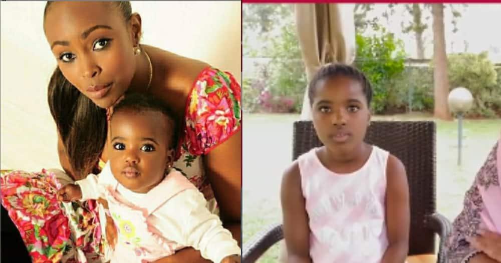 Caroline Mutoko turns back time with cute baby photo of her daughter Nduku
