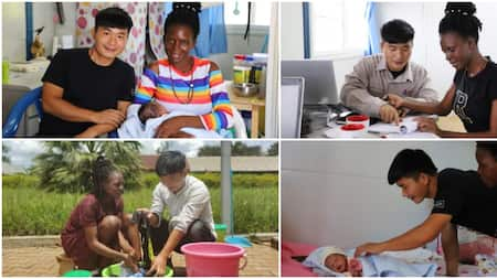 Ugandan Woman Gets Married to Chinese Man Assigned to Install Electricity in Her Area