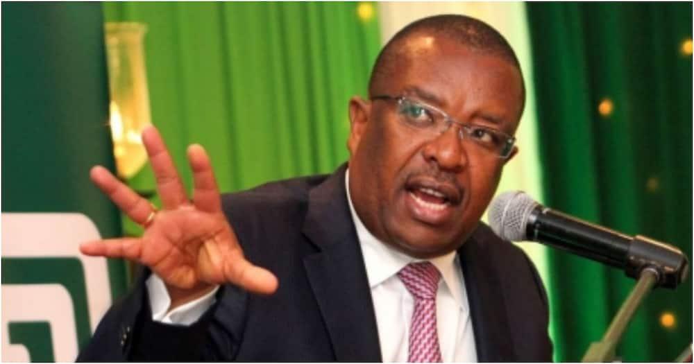 Co-operative Bank's CEO Gideon Muriuki. Photo: Co-operative Bank.