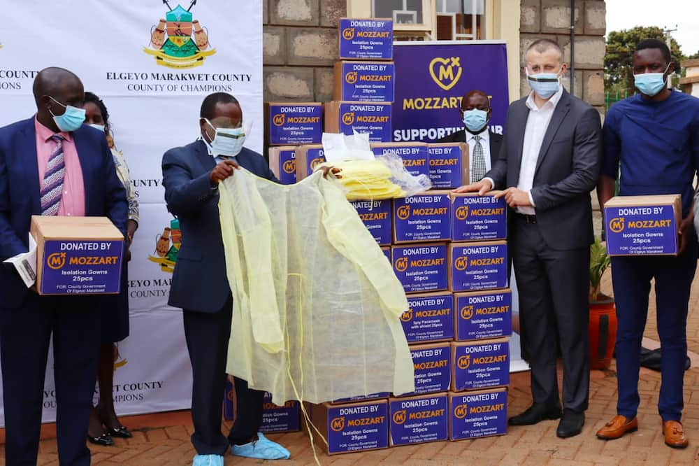 Mozzart Donates PPEs Worth KSh 2m To Iten County Referral Hospital