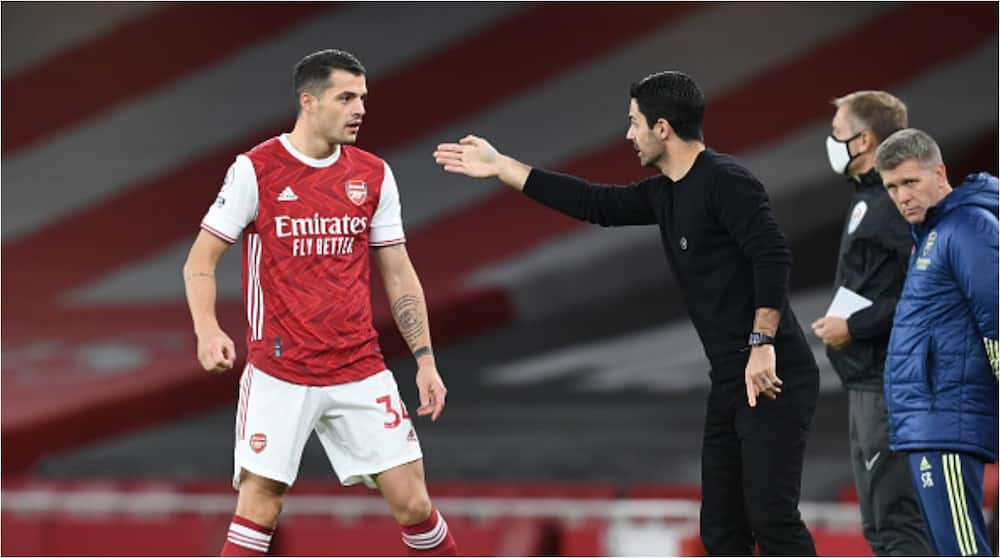 Mikel Arteta: Arsenal boss blasts Xhaka over red card in Premier League loss to Burnley