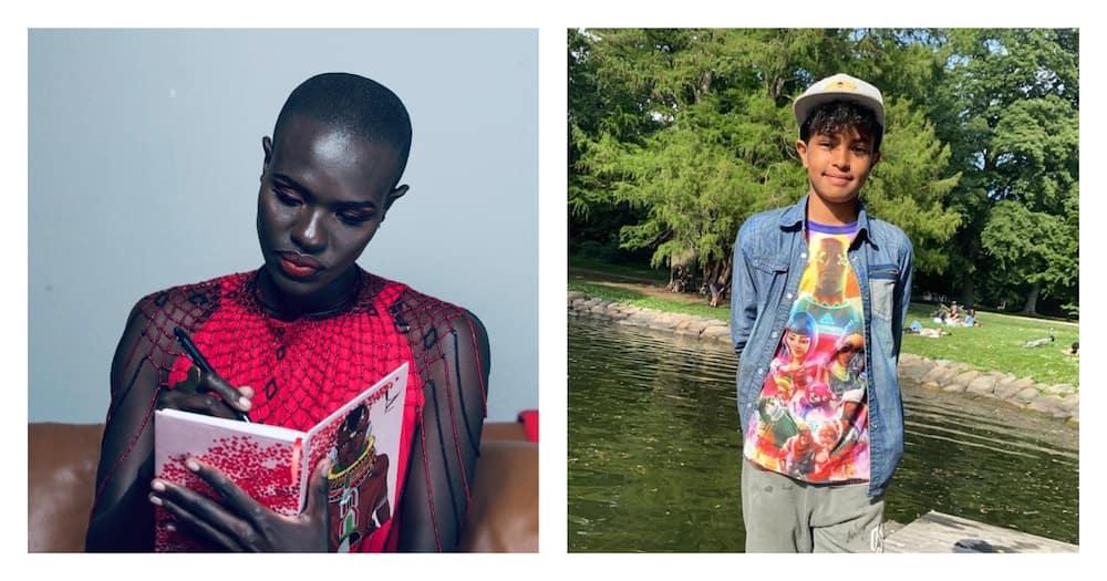 "Model Ajuma Nasanyana celebrates son's 10th birthday: ""I'd go through the pain a million times"""