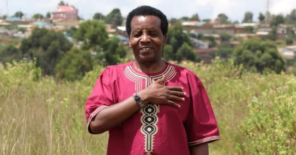 Celebrated gospel musician Reuben Kigame. Photo: Reuben Kigame.