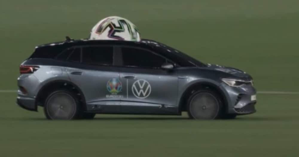Turkey vs Italy game sparkled by remote control car