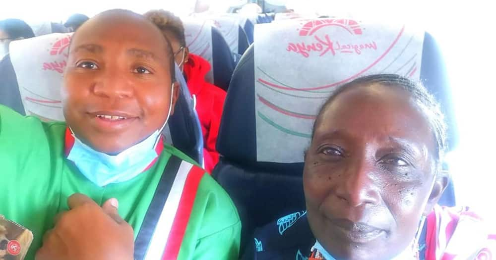 David Ole Sankok has been on a tour with his mother-in-law