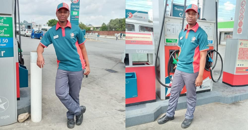 Petrol attendant proud of his job, even if some people are rude