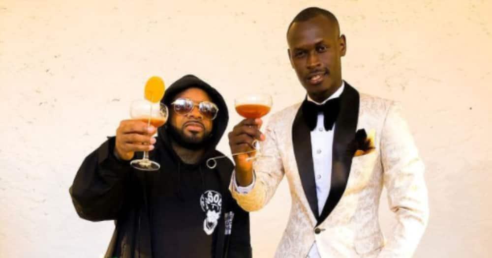 King Kaka posts inspirational TBT with legendary music producer Jermaine Dupri