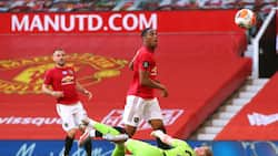 Man United vs Sheffield United: Anthony Martial asisimua na hat-trick ya kwanza Old Trafford