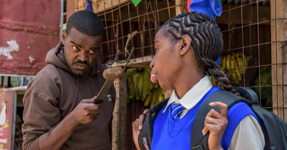 Actor Alfred Munyua said he wanted career growth.