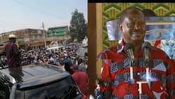 Nobody Can Stop Reggae: Raila Odinga Aingia Murang'a kwa Kishindo