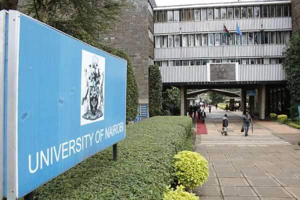 The University of Nairobi.