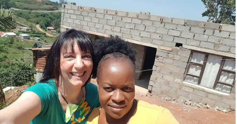 """Lady grateful for house that was built for her """"Wow this is wonderful"""""""