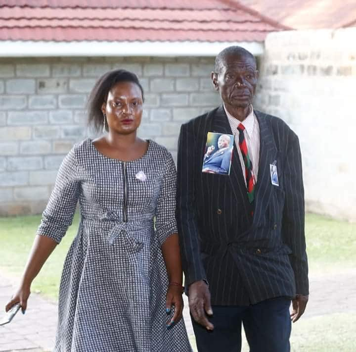 76-year-old man who cycled from Kakamega to Kabarak for Moi's burial allowed into ex-president's home