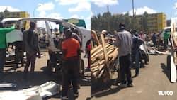 Githurai: Wakaazi wapora mali baada ya serikali kubomoa jengo katika ardhi ya umma