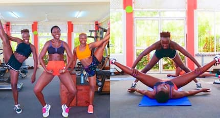 Akothee's highly sexualised gym photo with dancer causes online stir