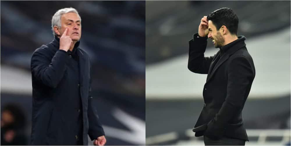 Jose Mourinho defends Arteta to bounce after Tottenham win over Arsenal