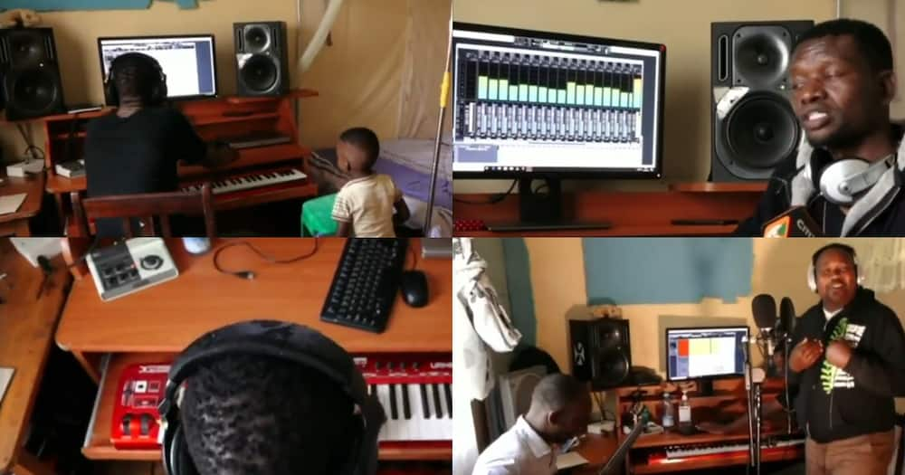 KFCB to pay rent for Eldoret music producer who turned bedsitter house to studio