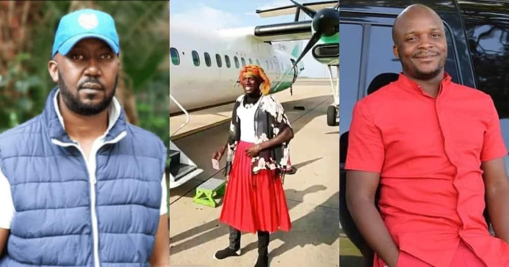 Kibe criticised Jalang'o for interviewing Mtumba man, Jalang'o defended himself.