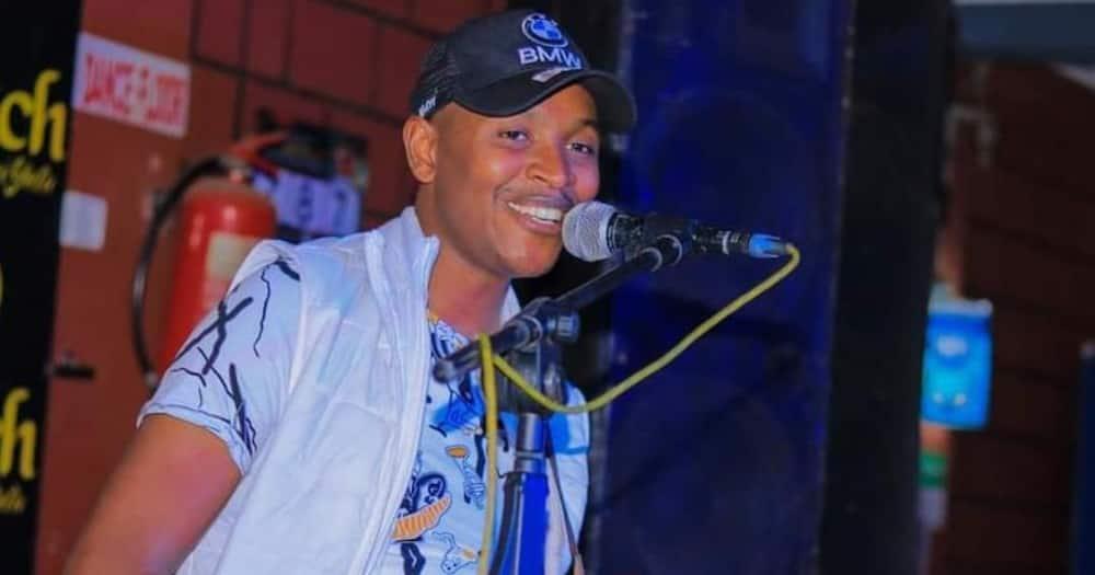 Samidoh insinuated that Karen Nyamu made the first move on him. Photo: Samidoh.