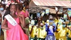 13-Year-Old Model Keeping Pupils in School By Distributing Books, Sanitary Pads