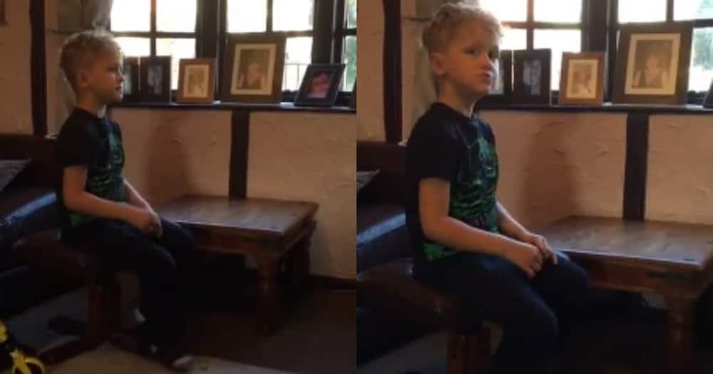 Video of 5-year-old boy singing Jerusalema melts many hearts