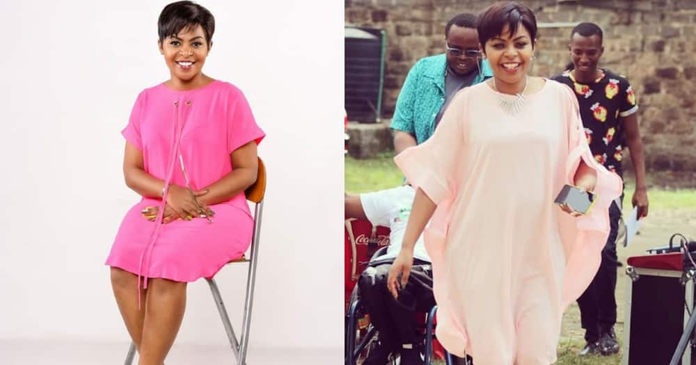 Size 8 recalls almost losing her son during birth.