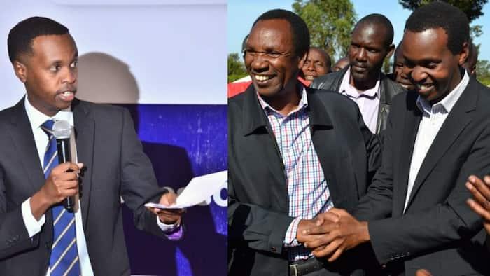 Alex Kosgei: Henry Kosgei's Son and Emgwen MP Declares He'll Go for Nandi Senatorial Seat