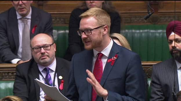 British politician goes public with his HIV+ status while addressing parliament