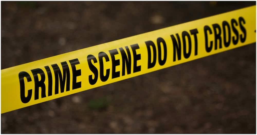 A crime scene tape. Photo: ForencicEquipment.