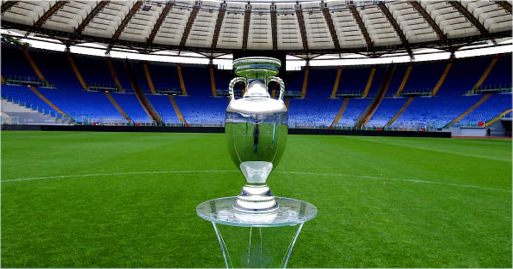 Euro 2020 trophy - Getty Images/Photo by Paolo Bruno.