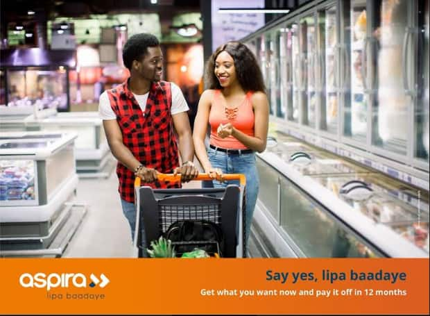 How to use Aspira to shop now and pay laterHow to use Aspira to shop now and pay later