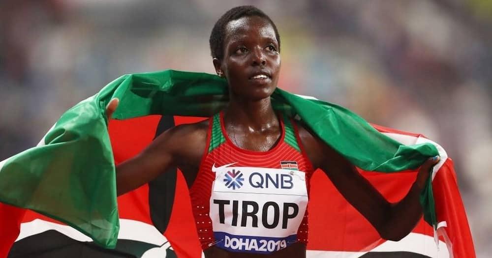 Agnes Tirop was celebrated marathoner.