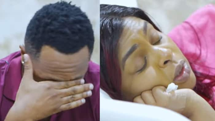 """Size 8, Dj Mo in Despair After Losing Another Baby: """"It's Because of High Blood Pressure"""""""