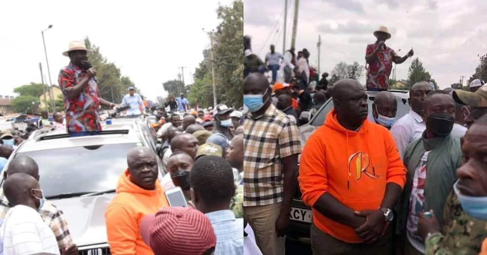 Gumzo Zazuka Baada ya Mlinzi wa Rais Uhuru Kutumwa Kumlinda Raila