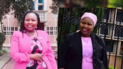 Senator Millicent Omanga leads by example encouraging women to forgo wearing bra