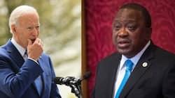 Uhuru in US for Bilateral Talks with President Joe Biden at White House