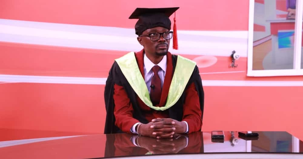 Didmus Barasa Graduates With a Degree in Public Administration, Adds to His Undergraduate and Masters Degree