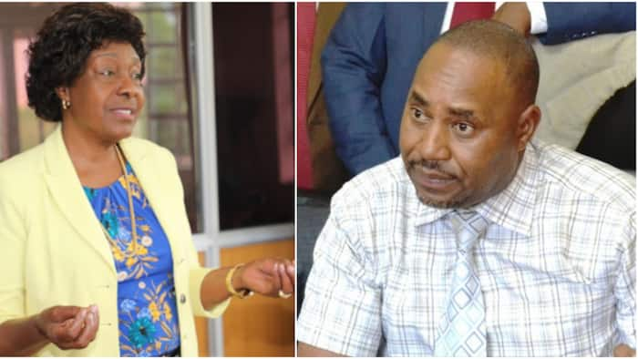Motion to impeach Kitui county Governor Charity Ngilu withdrawn