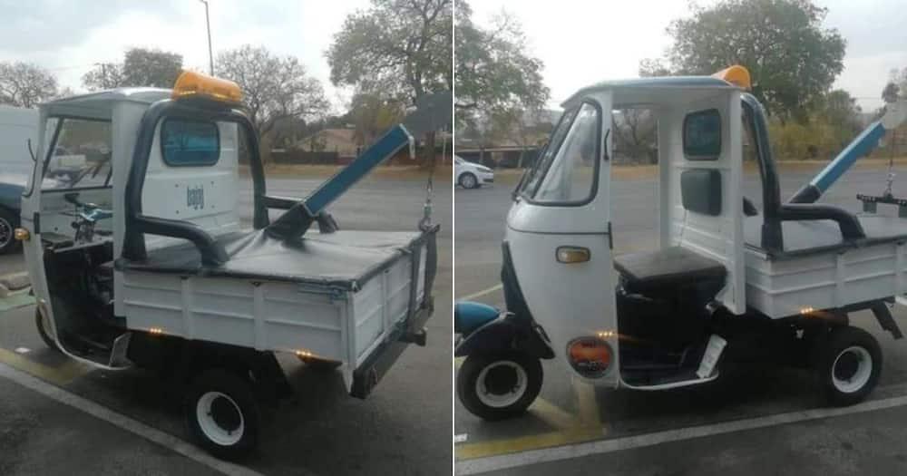 Mzansi, Hilariously, Pics, Mini, Truck
