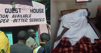 Vihiga: AP officer gets stuck while eating someone's wife in guest house