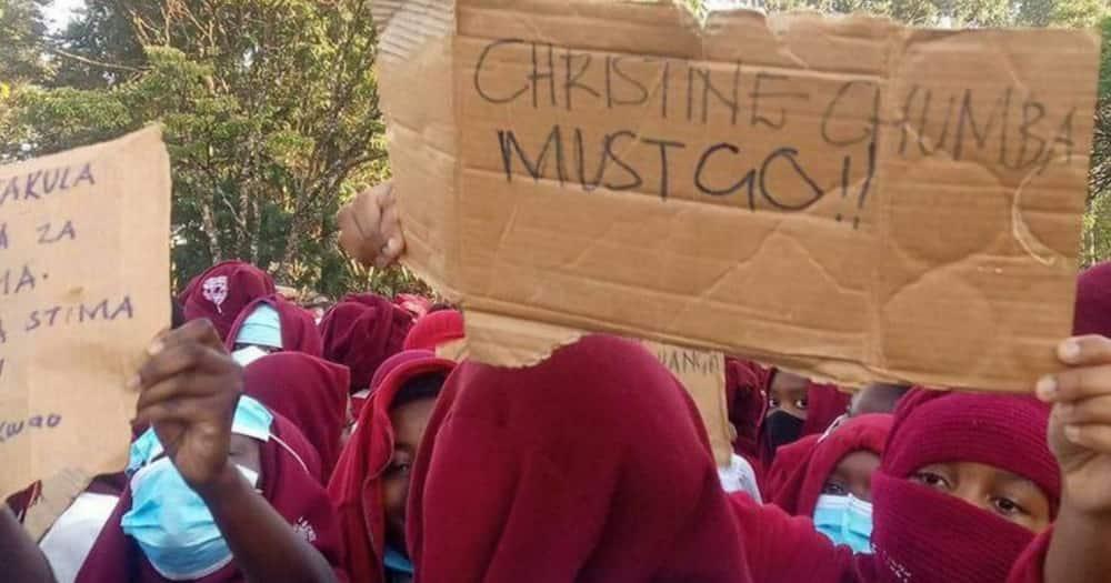 Shule ya Moi Girls Eldoret yafungwa ghafla baada ya wanafunzi kuandamana