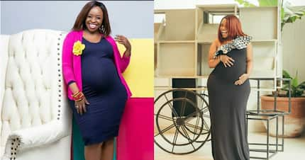 Former TV girl Faith Muturi gives fans sneak peek of her newborn daughter's face